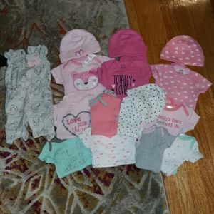 Bundle lot Onesies romper jumper